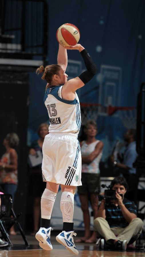 Lindsay Whalen wearing nike Zoom Hyperfuse 2011