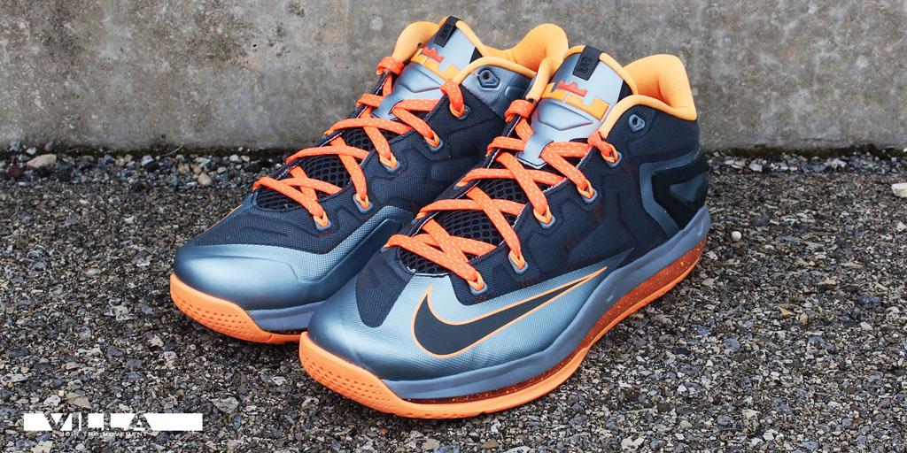 buy popular 67d5d 7e431 Nike LeBron XI 11 Low Lava (1)