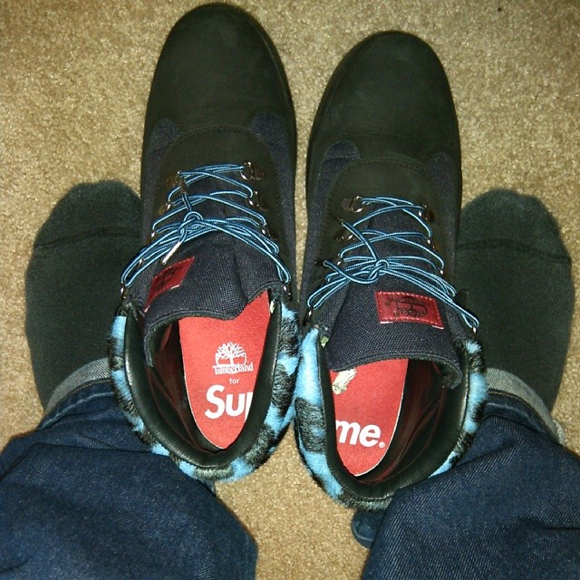 Spotlight // Forum Staff Weekly WDYWT? - 11.16.13 - Supreme x Timberland Field Boot by goldenchild9389