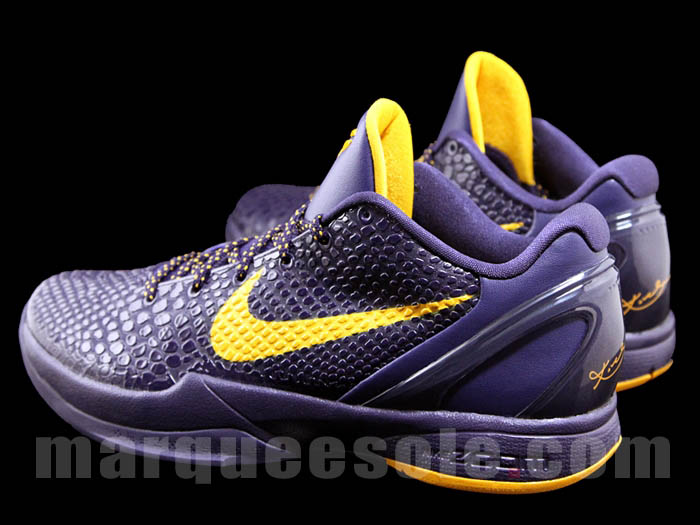 Nike Zoom Kobe VI Imperial PurpleDel Sol New Images