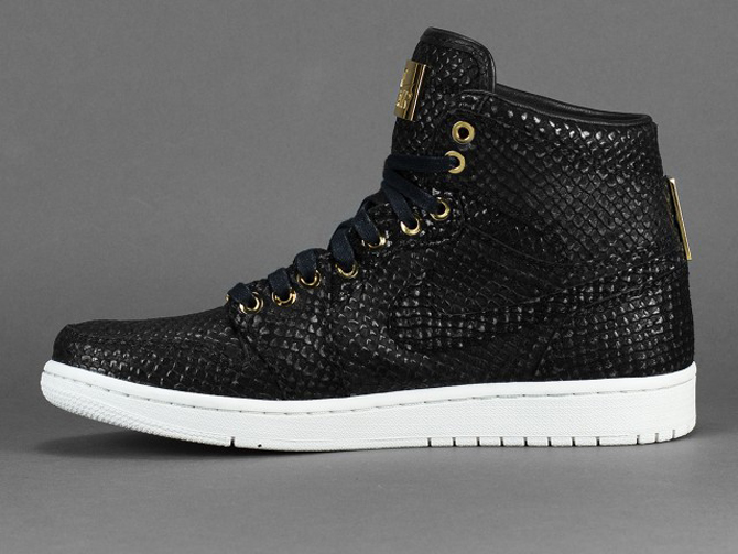 competitive price 01196 f13e4 Air Jordan 1 Pinnacle Release Date  06 20 15. Color  Black Black-Metallic  Gold-White Style    705075-030. Price   400