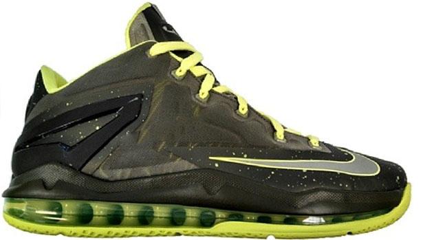 Nike LeBron 11 Low Medium Khaki/Medium Khaki-Volt-Medium Olive