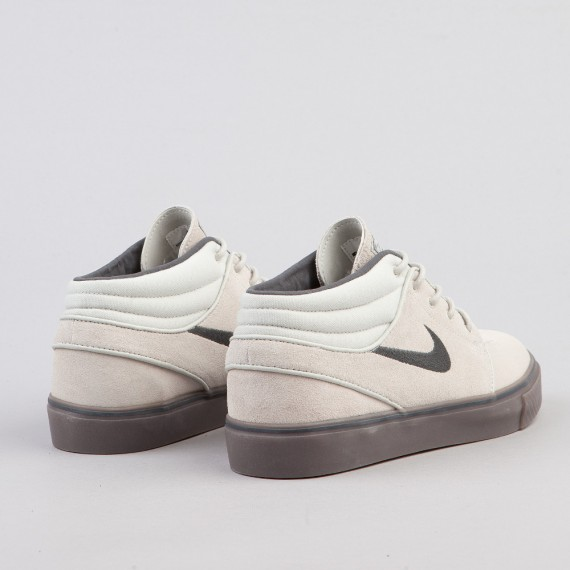 Nike SB Zoom Stefan Janoski Mid – Light BoneAnthraciteGum