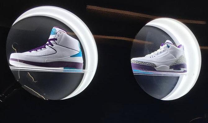 26c01cdf5306a6 Michael Jordan Has Charlotte Hornets Air Jordans Displayed in His ...