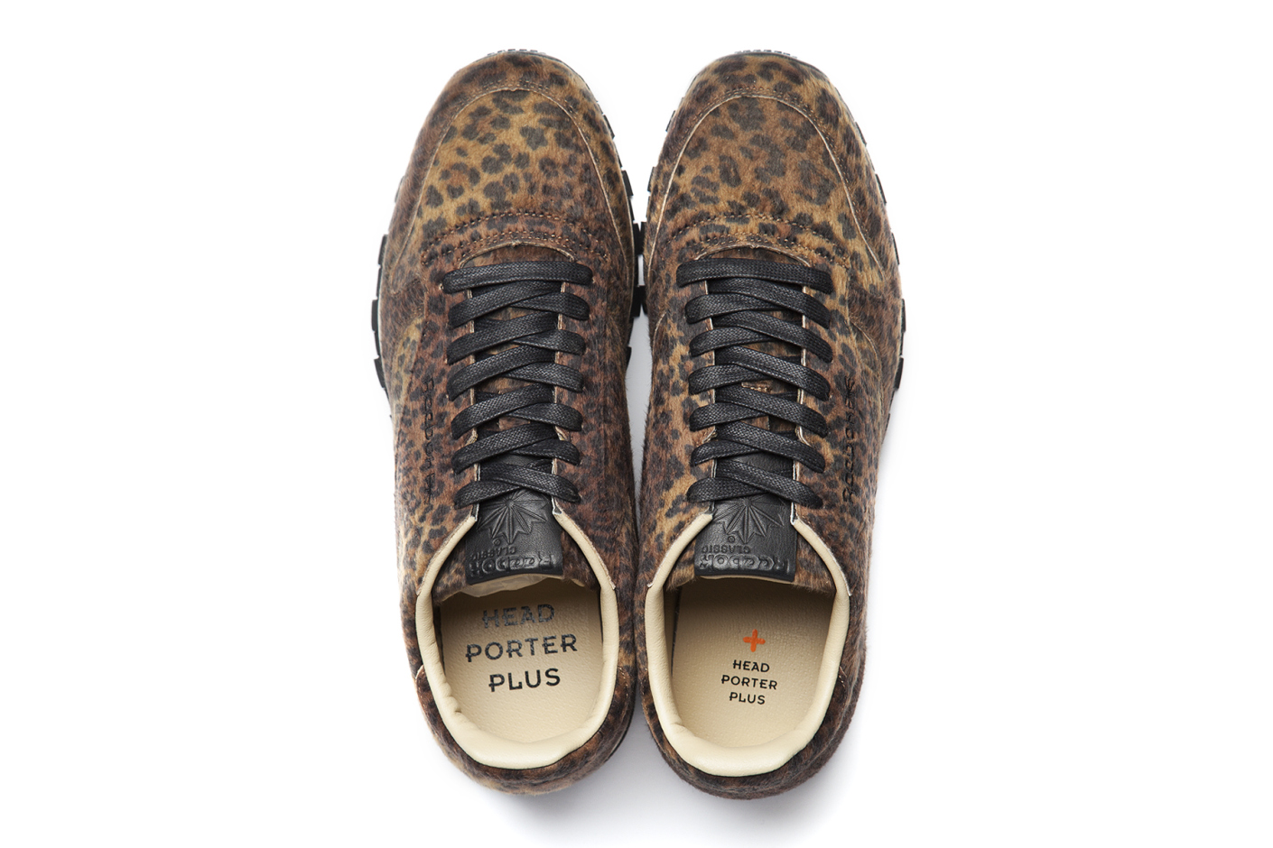Head Porter Plus x Reebok Classic Leather leopard top