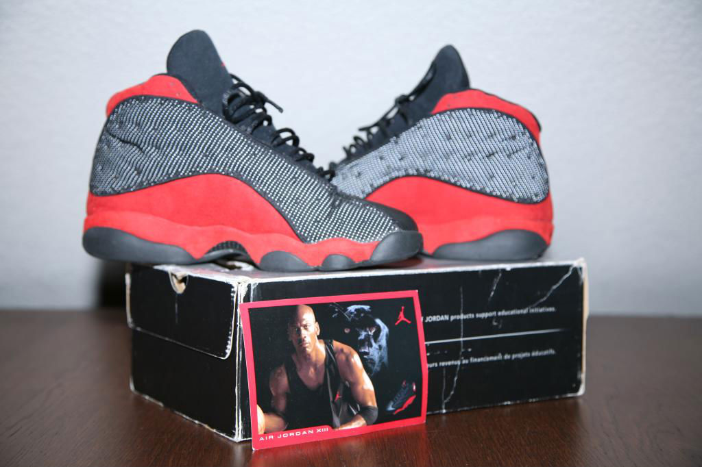 Spotlight // Pickups of the Week 1.5.13 - Air Jordan Retro XIII 13 Black Red by dionicio