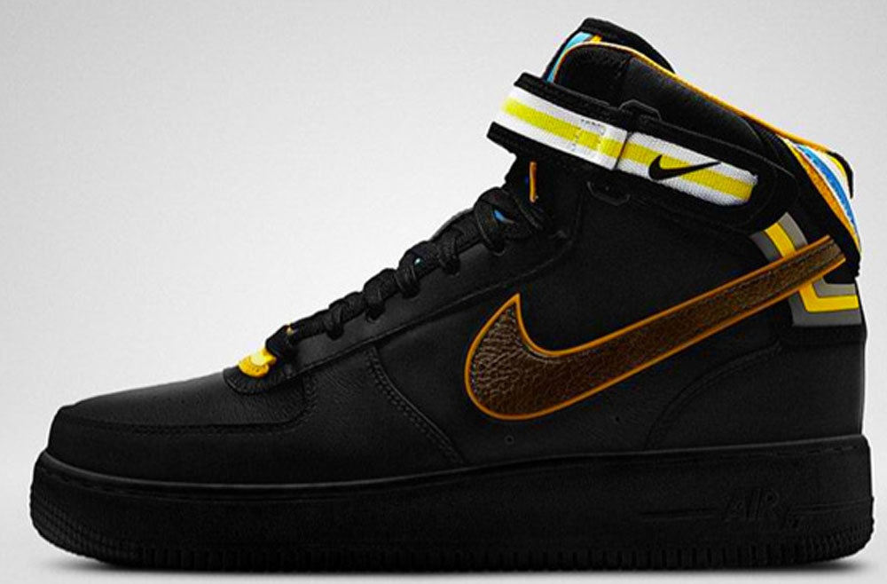 Nike Air Force 1 Mid Supreme RT Black/Baroque Brown