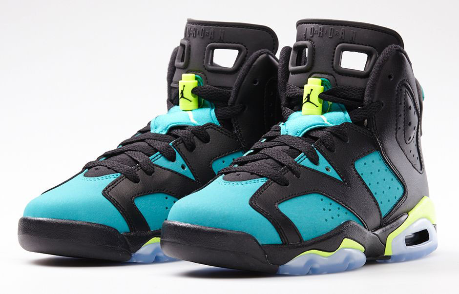 Air Jordan VI 6 GS Turbo Green 543390-043 (1)
