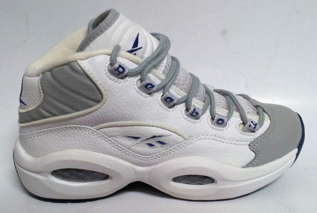 Reebok Question White/Grey-Royal