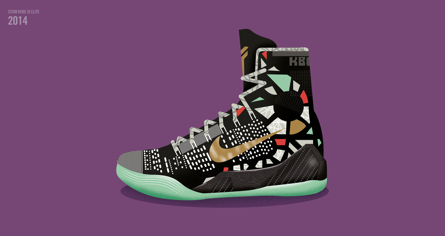 d94cee390a53 Take a look at the Kobe All-Star shoes stretching back to 2010 s Nike Kobe  5 here and see the rest of the feature via Nike SNKRS.