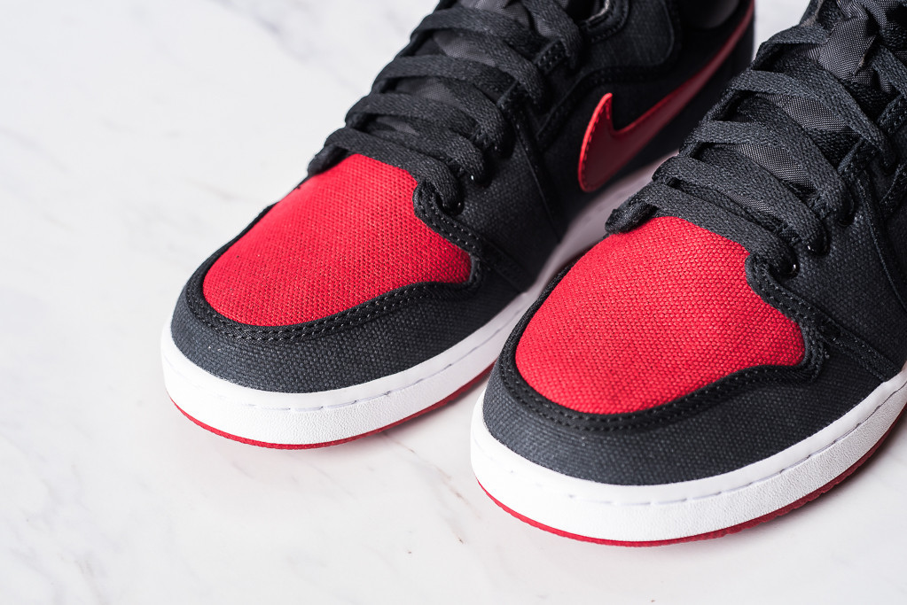df34952417ea See How the  Bred  Air Jordan 1 KO Looks On-Feet