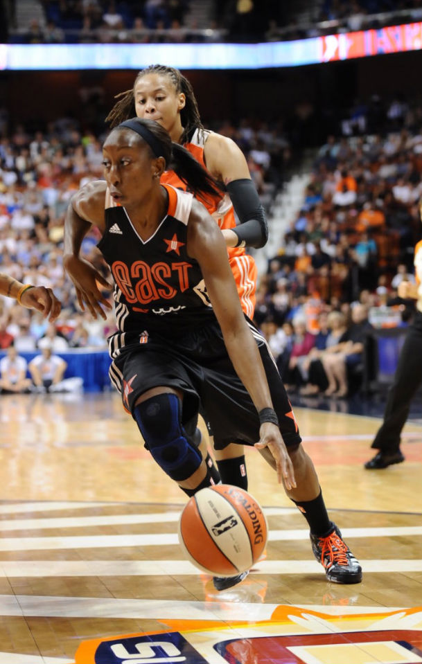 Allison Hightower wearing adidas Crazyquick