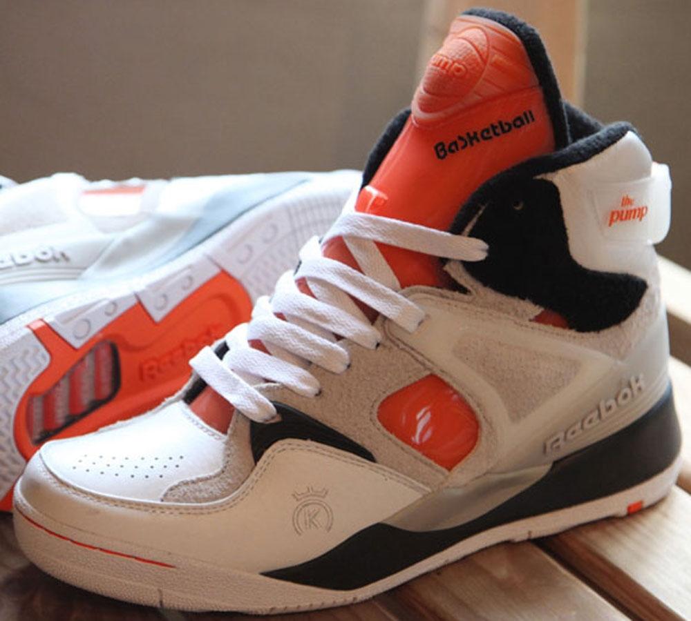 Reebok The Pump Certified White/Black-GID-Solar Orange