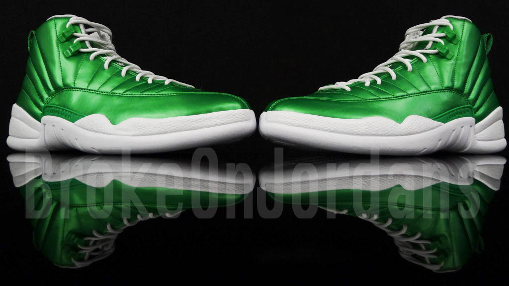 Air Jordan XII - Green/White Sample
