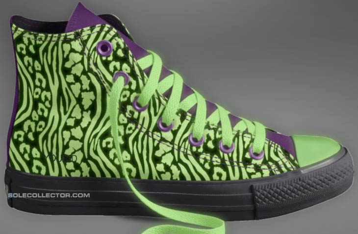 Converse Glow in the Dark Shoes Sneakers Chuck Taylor All Star (3)