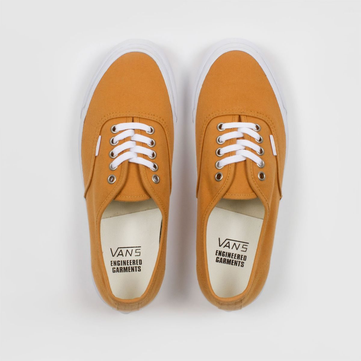 engineered garments x vault by vans og authentic lx sunforger cotton canvas