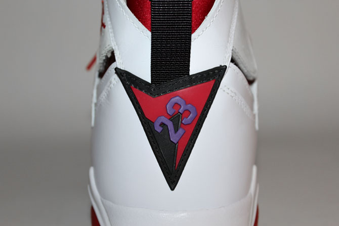 7d0d9dcd960d4c Decoded  You ve probably seen the shield logo on the heel of the Air Jordan  7 hundreds of times