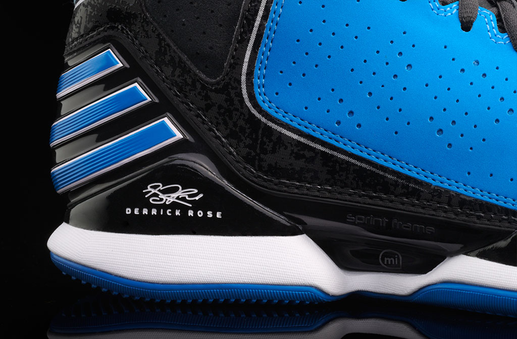 adidas Rose 773 Bright Blue Black White (4)