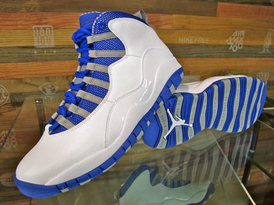 air jordan 10 royal blue