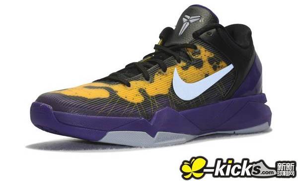 Nike Kobe VII 7 Poison Dart Frog Lakers 488371-500 (5) 137f850e7