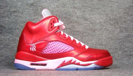 Air Jordan 5 Retro GS Valentines Day Sole Collector
