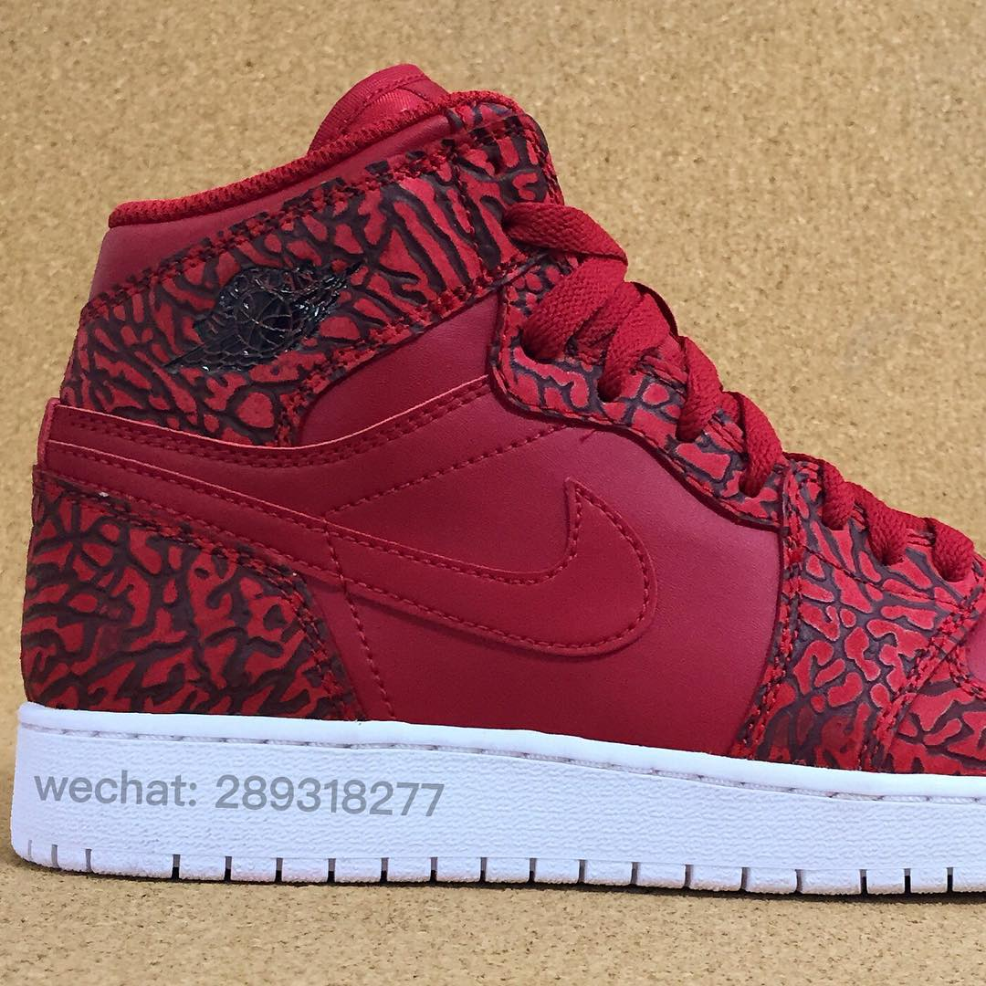 free shipping b3d4f 98e47 There s Another Elephant Print Air Jordan 1 On the Way