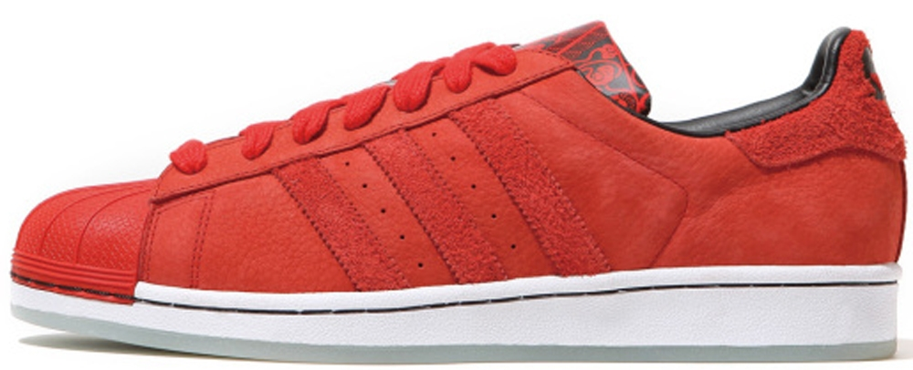 adidas Originals Superstar CNY Red/Metallic Gold-White