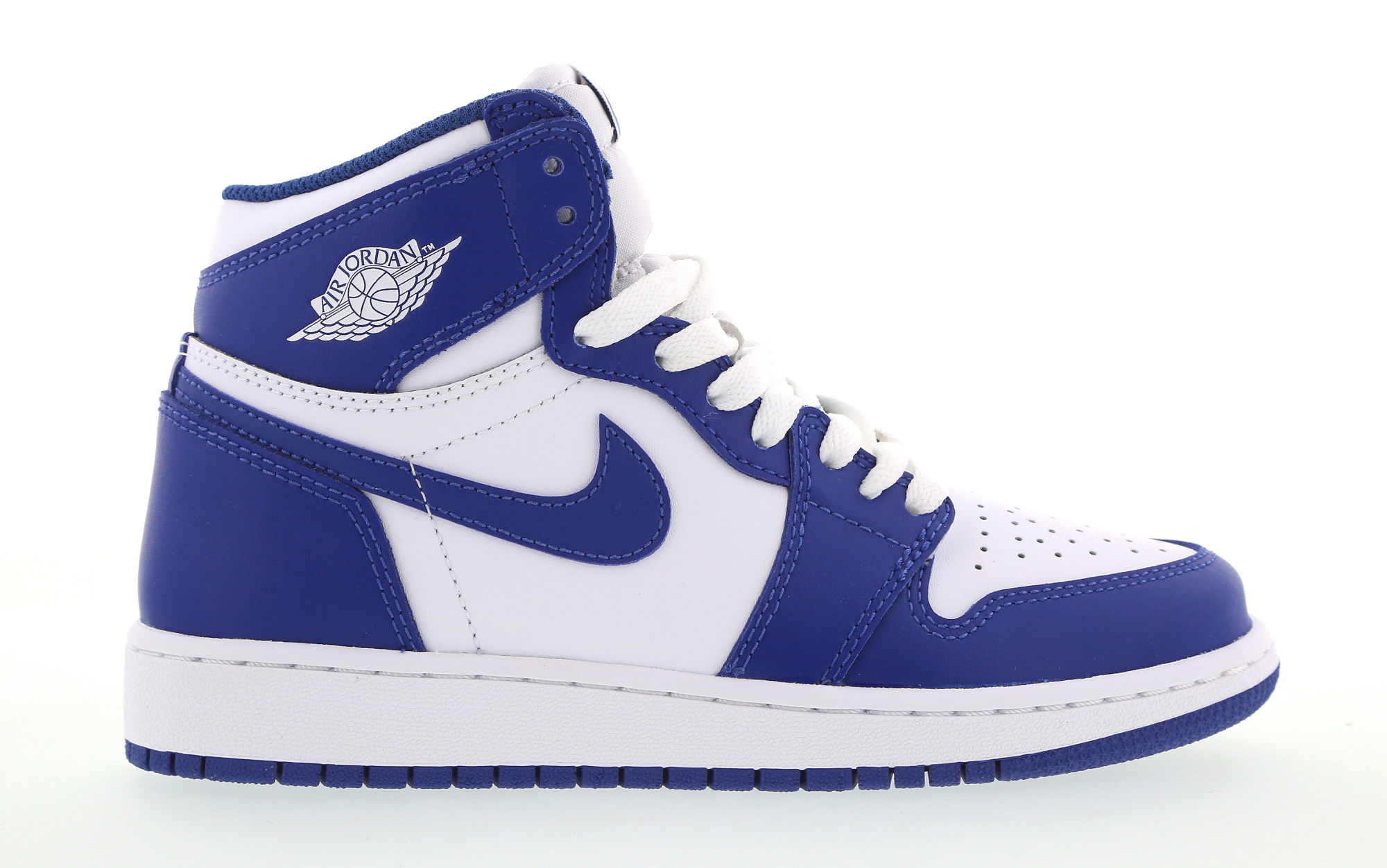 Air Jordan 1 Storm Blue GS Profile