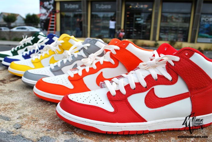 b247e2fc951 The selection was once again broadened by Nike for the retro crowd with  several non-original color schemes also released by Nike Sportswear as part  of the ...