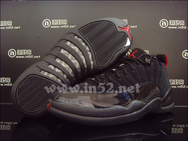 35925cb1a1a Air Jordan Retro 12 Low - Black Patent Varsity Red - New Images ...