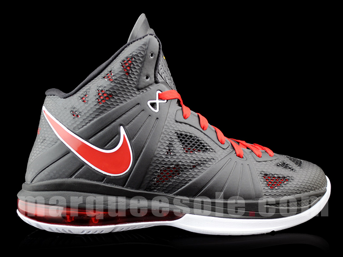 ff96385fde8f0c First Look  Nike LeBron 8 P.S. - Black Red White