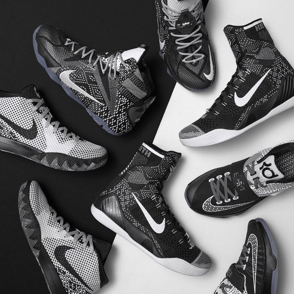 5042122fbf83 Nike Basketball s  Black History Month  Collection for 2015. Nike  Basketball shows off their new BHM sneakers for Kobe