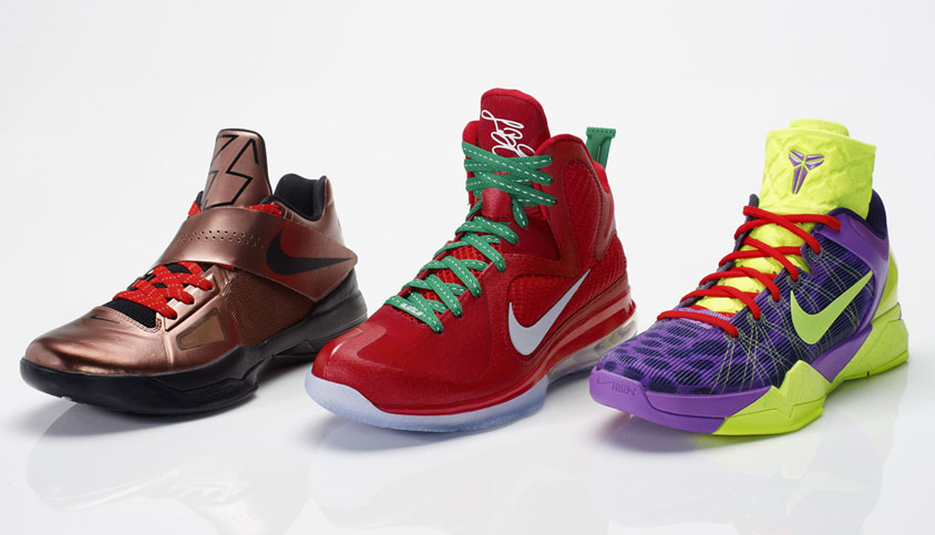 Poll // Best Nike Basketball Signature Christmas Pack // 2011