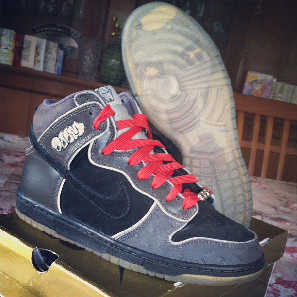 Spotlight // Pickups of the Week 6.2.13 - Nike Dunk High SB MF Doom by Pitman-13