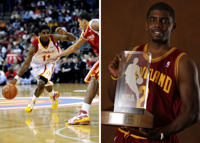 McDonald's All American Game MVP Winners - Kyrie Irving