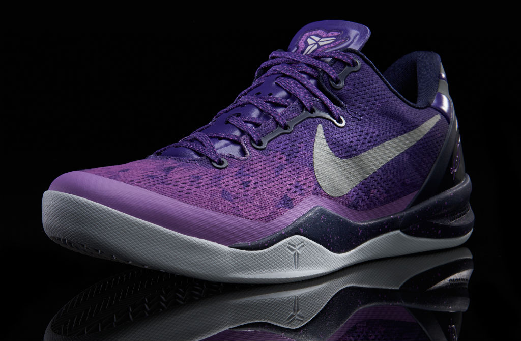 Nike Kobe 8 System Court Purple Pure Platinum Blackened Blue Laser Purple 555035-500 (1)