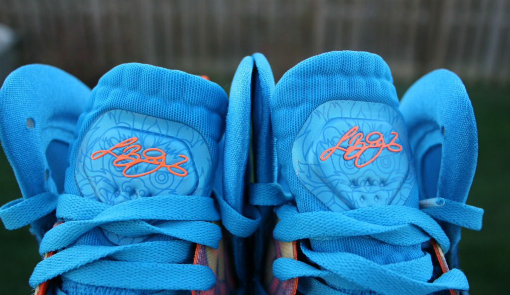 Nike LeBron 9 P.S. Elite China Blue Flame (7)