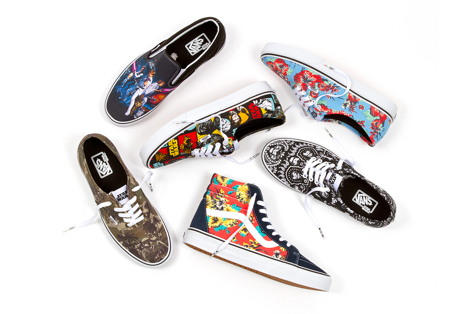 a7b70eaa5fdfa6 Star Wars and Vans Use the Power of the Force for New Collection ...