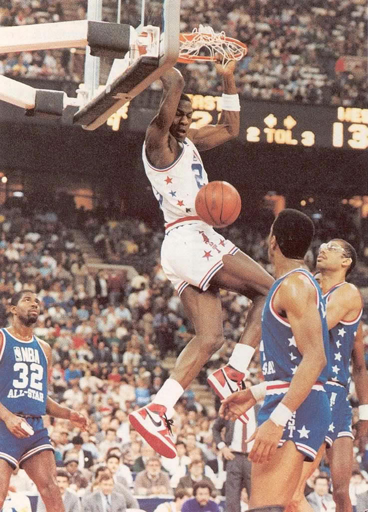 #2350 // 50 Classic Michael Jordan All-Star Game Photos (16)