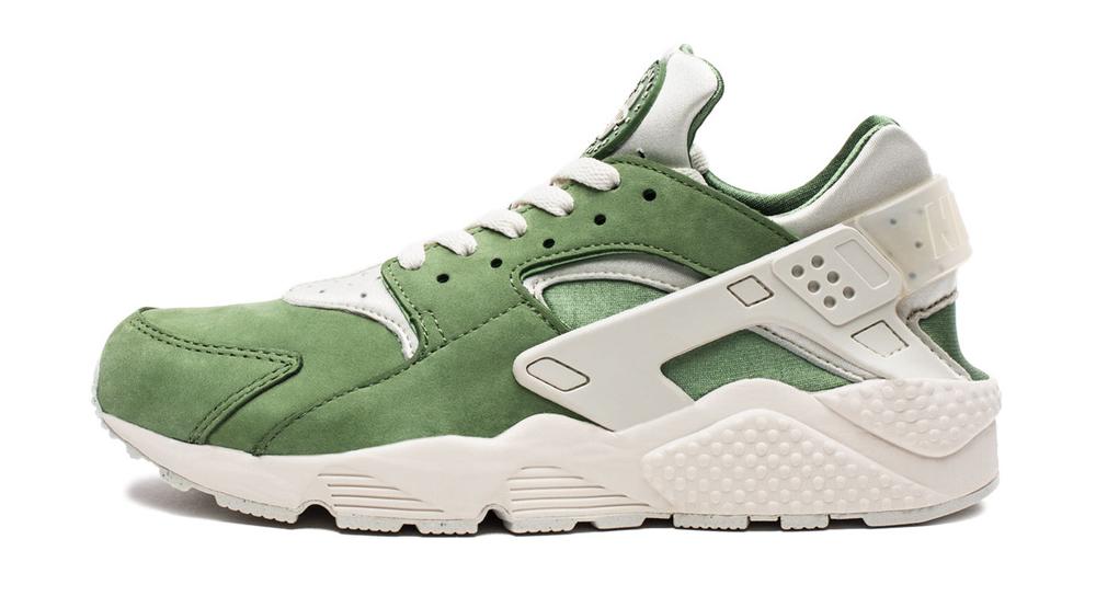 outlet store 51a97 2892d Nike Huarache Treeline Green