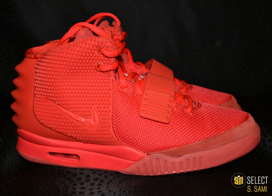 sports shoes 6050a 6f91c Nike Air Yeezy II - Red October    Detailed Look