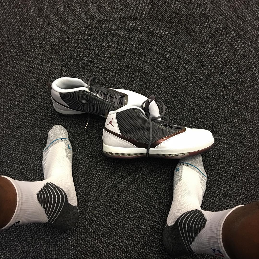 291fd99cd29dca SoleWatch  P.J. Tucker Plays in the  Cherrywood  Air Jordan 16 ...