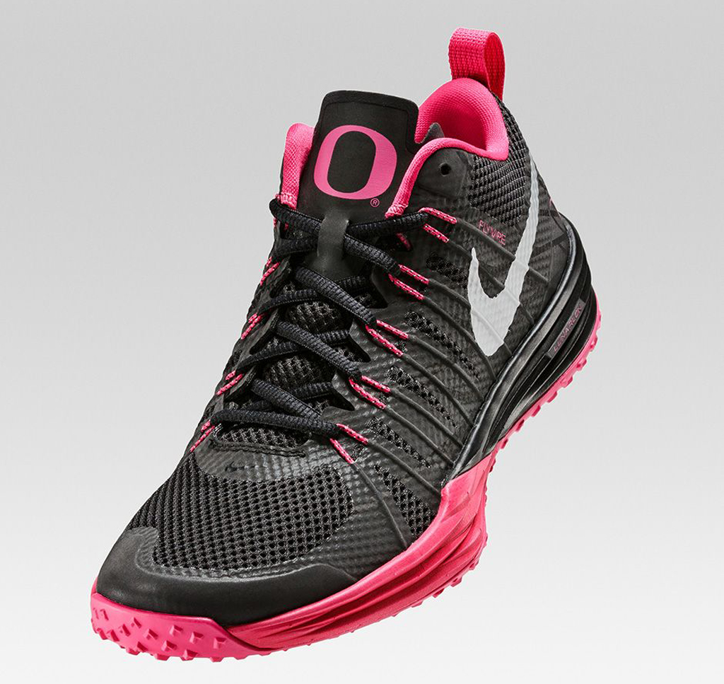 wholesale dealer 16cdd f9e99 Nike Lunar TR1  Oregon Kay Yow  for Breast Cancer Awareness