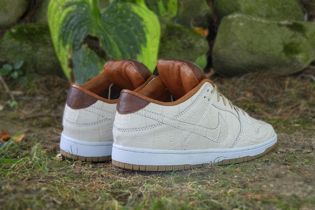 Nike Dunk Low SB 'Ivory Gator' by JBF Customs (5)