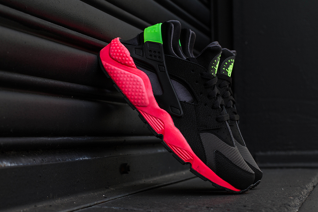 1bea4c12093dc4 Nike Air Huarache  Hyper Punch  Arriving At Retailers