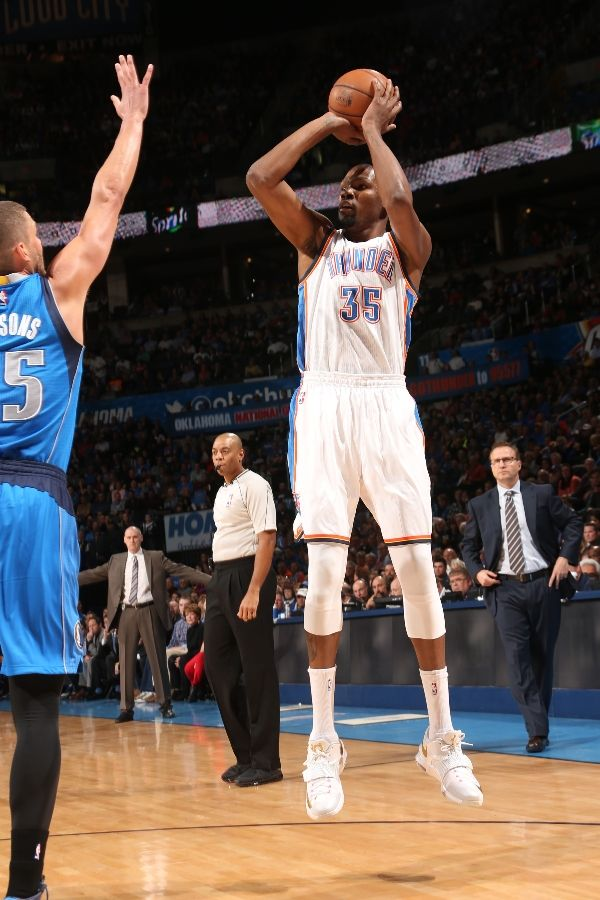 purchase cheap 45766 945a3 SoleWatch: Kevin Durant Finally Wore the Nike KD 7 (For One ...