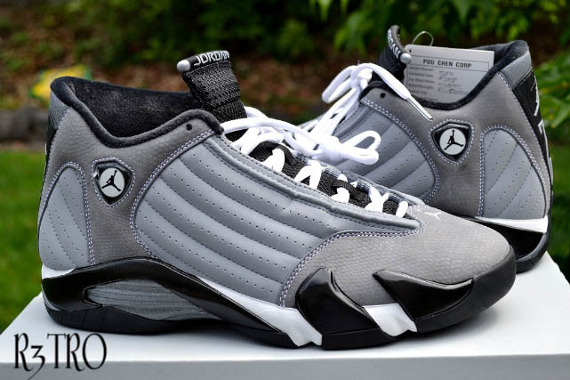 Air Jordan XIV !4 Light Graphite/Black-White Barons