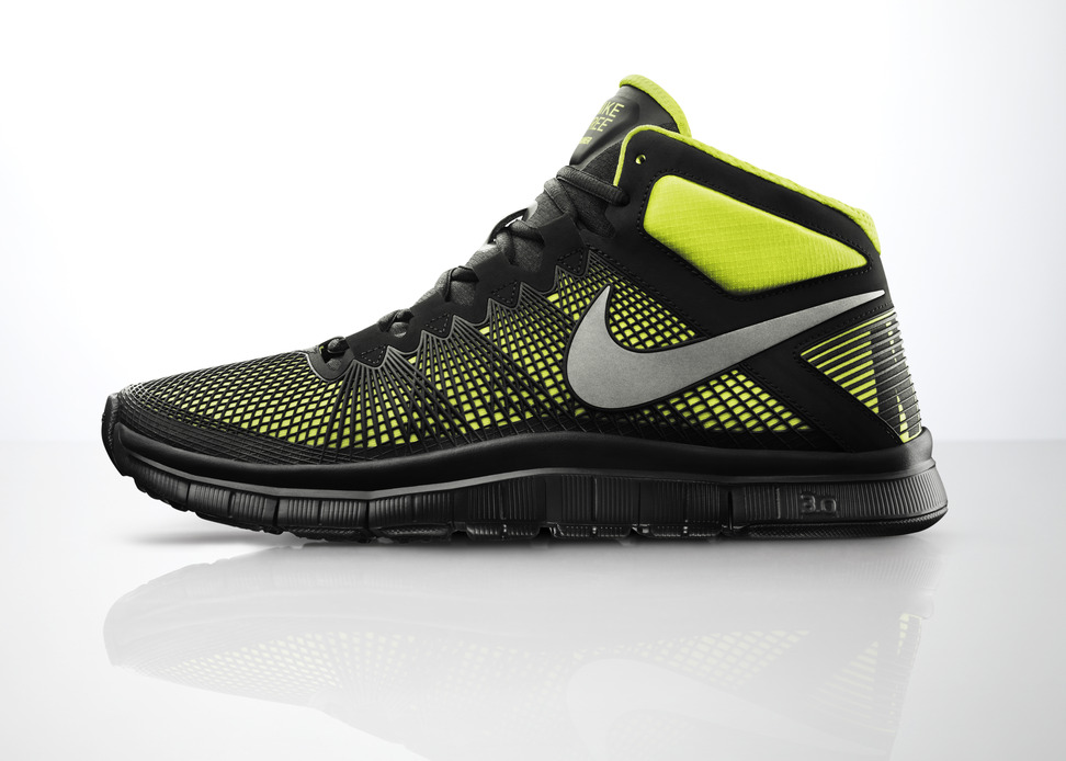nike free trainer 3.0 mid shield profile