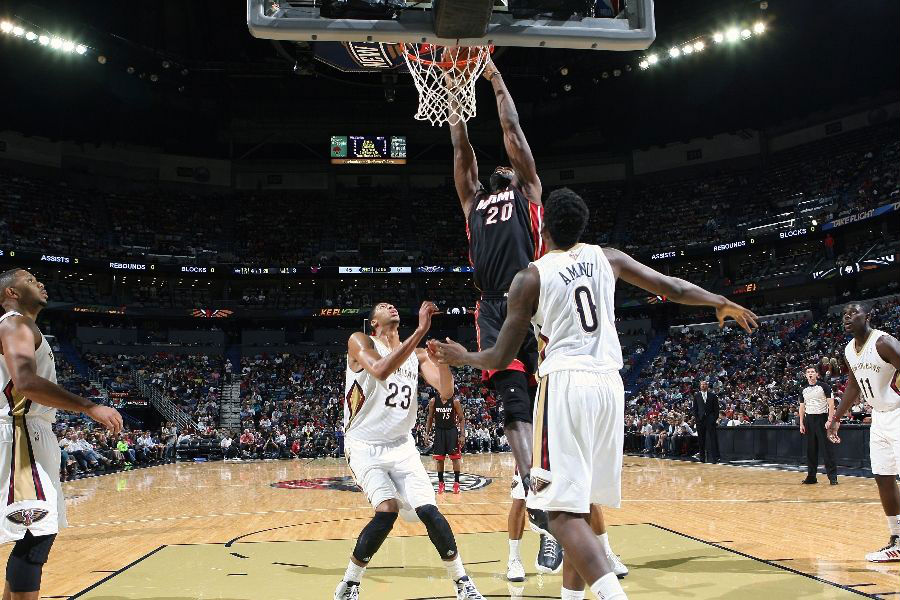 Greg Oden Returns, Dunks in Nike Air Alonzo (2)