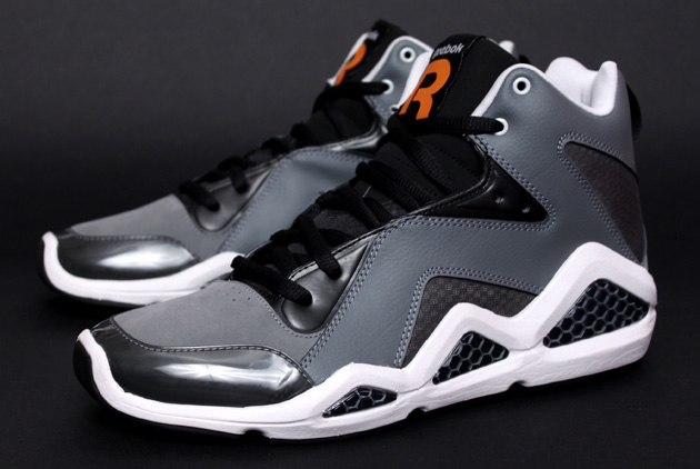 Reebok Kamikaze III - Black/Grey/Orange 3